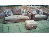 Fabric sofa 3&2 ( free delivery)