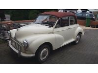 1970 Morris Minor Convertible (converted)