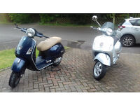 Vespa GTS 250 ie and 300 Touring