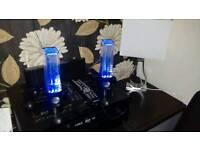 Glow in the dark water speakers