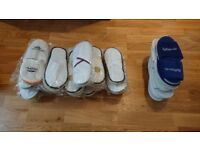 SELECTION OF HOTEL SLIPPERS ONE SIZE FITS ALL