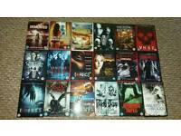 18 horror dvds