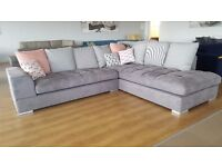 FANO Delivery 1-3 days traditional form relaxation and comfort brand new sofa corner couch settee
