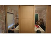 Sliding wardrobe doors, x4