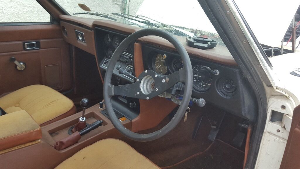 Reliant Scimitar Classic Project Hot Rod Drift Track Car Barn Find