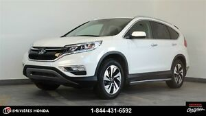 2015 Honda CR-V Touring 4WD toit cuir mags