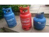 Caravan gas bottle