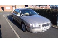 Volvo s80 2.4 auto full leather sale or swap for a manual car