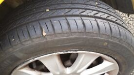 4 tyres for sale. Size :185 /55 R 15 82V