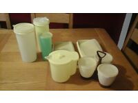 Vintage Tupperware Collection - Original 1970's items.