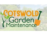 Cotswold Garden maintance aspects include Lawn Mowing,Hedge Tree work,patio laying,fencing