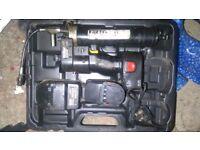 Sealey battery powered greese gun