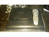Sky tv box, remote and new router