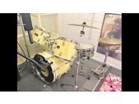 Vintage Pearl Export Series Drum kit & Extras