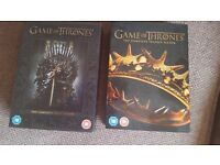 Game of thrones boxed dvd sets - seasons 1 and 2