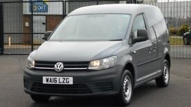 2016 NEW MODEL VOLKSWAGEN CADDY 2.0 TDI BLUEMOTION 102 BHP. ONLY 10000 MILES. GREAT SPEC.