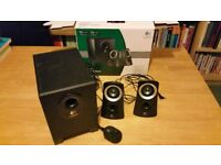 Logitech Speaker System Z313 50watts with control pod