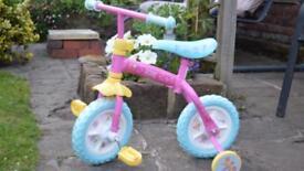 New girls Peppa pig bike 2-4yrs age