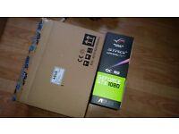 ASUS STRIX GTX 1080 8GB OC EDITION. (BOXED) GPU GRAPHICS CARD
