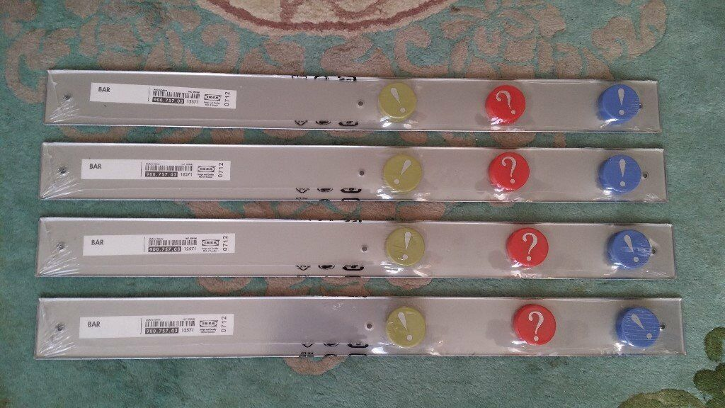 Magnetic dispaly bars (x4): IKEA **NEW**REDUCED FOR QUICK SALE**