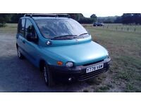 2002 FIAT MULTIPLA FOR SALE DIESEL WITH NEW MOT