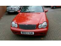 Mercedes c180 2003 selling cheap