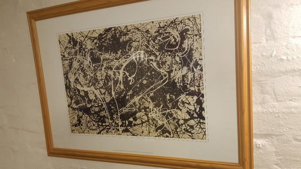 Jackson Pollock Abstract Print No 33in Bearsden, GlasgowGumtree - Jackson Pollock Abstract Print No 33 Reloved Furniture 15 Temple Rd Anniesland G13 1EL We are open 7 days a week Mon Sat 9 to 6 & Sun 10 6 0141 954 2323 Please Have A Look At All Our Other Ads