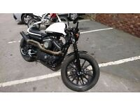 Harley Davidson, Competition bike, only one made like this!