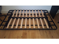 Free exarby ikea small double bed frame