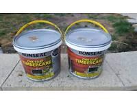 Shed paint, Fence paint