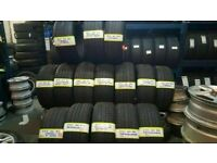 large branded PERFORMANCE TYRES AS NEW 7-8MM TREAD MOST SIZES AVAIL TXT SIZE TO 07843 7 DAYS