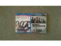 Sky Fall & Fast 7. Bluray