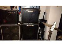 Ashdown Evo III 500W Tube Bass Amplifier (Head + 2x10 + 1x15)