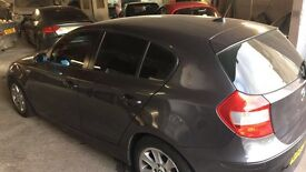BMW 1 SERIES LEATHER INTERIOR GOOD FOR FIRST CAR DRIVES SMOOTH (MOTORWAY MILES)