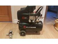 Richmond air compressor 24L + FREE inline filter regulator