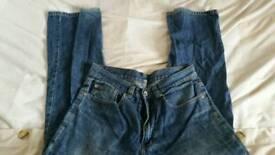 Men denim jean jeans clothes fashion trouser
