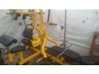 Powertec multigym and attachments