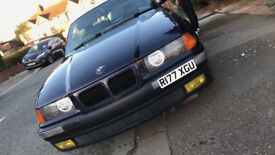 BMW E36 M52 B25 - Convertible with hardtop - Orient blue