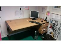 To big office tables can deliver £30 each
