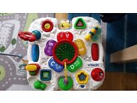 VTEC childs activity table with sensory activities