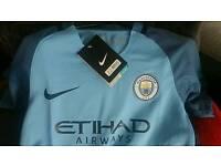 Brand New Kids Man City Shirt & Shorts