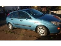 Ford Focus 1.6, 2 owners, 85k miles, selling or part ex (clutch slipping)