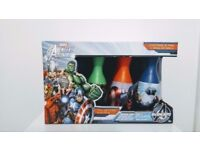 Marvel Avengers Bowling Set Kids Toys Indoor Outdoor Summer Playset - New