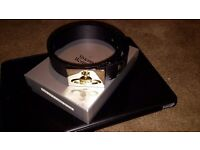 Gents Vivienne Westwood Belt (Brand New boxed)