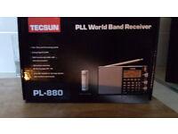 TECSUN PL-880 WORLD BAND RECEIVER