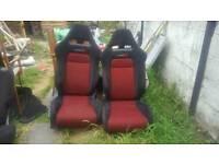 Geniune Honda civic type R seats