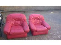 Two individual sofas