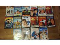 DVDs Adam Sandler collection