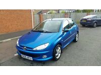 2005 peugeot 206 2.0 hdi immaculate condition full service history full mot