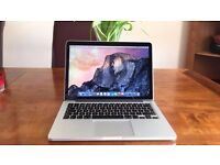 BOXED MacBook Pro Retina display 13 (2015) intel i5, iris pro 6100 graphics, 8GB RAM, 128GB SSD